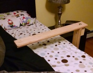 back-sleeper bed clamp